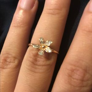 Rose pandora daisy ring